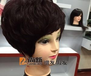 温州假发真发订做顾客发型细节欣赏1