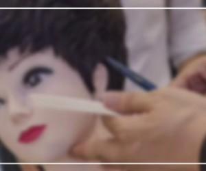 第23期假发的佩戴 假发的修剪 烫染技巧 销售的技巧 营销的策略市场分析